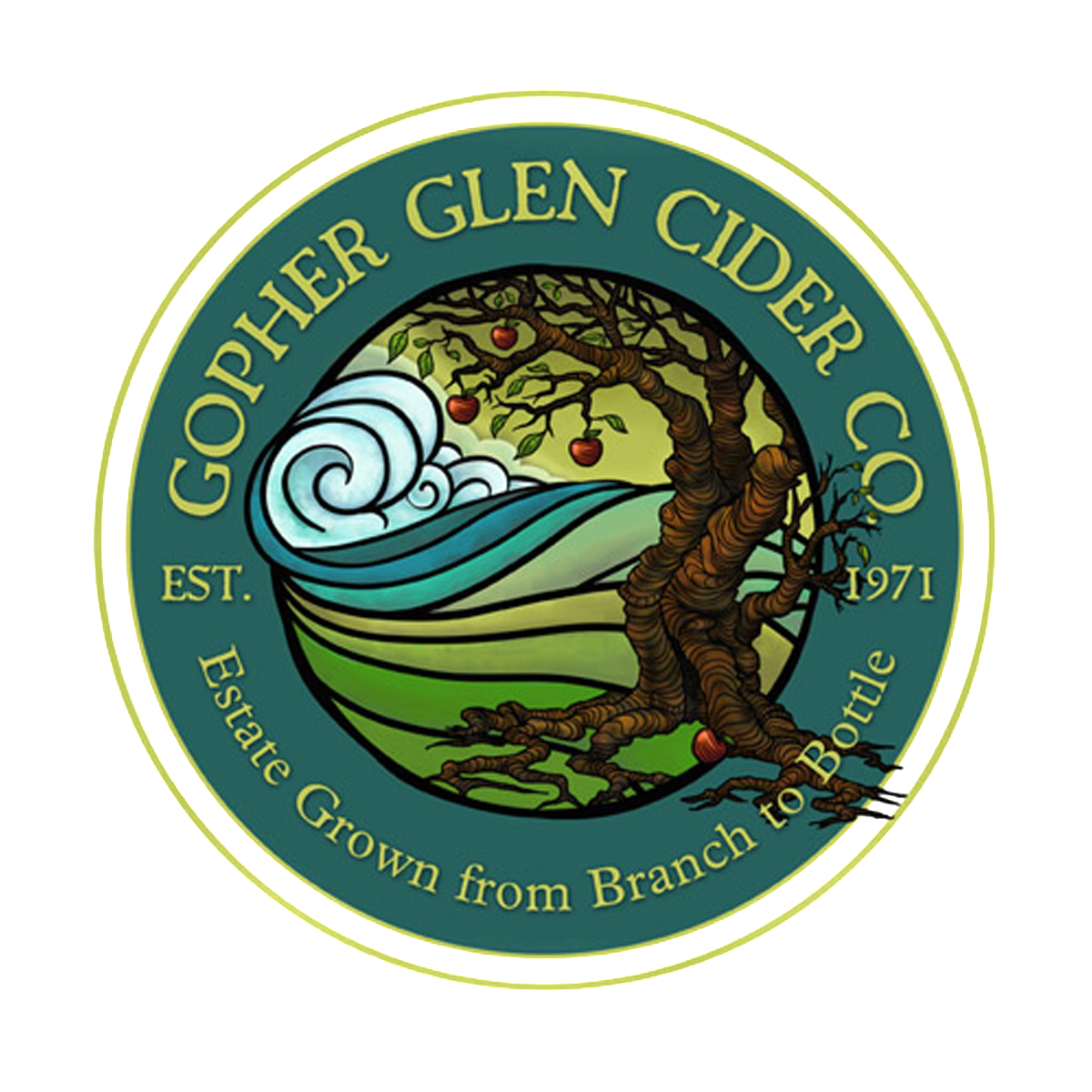 Gopher Glen Cider Company logo