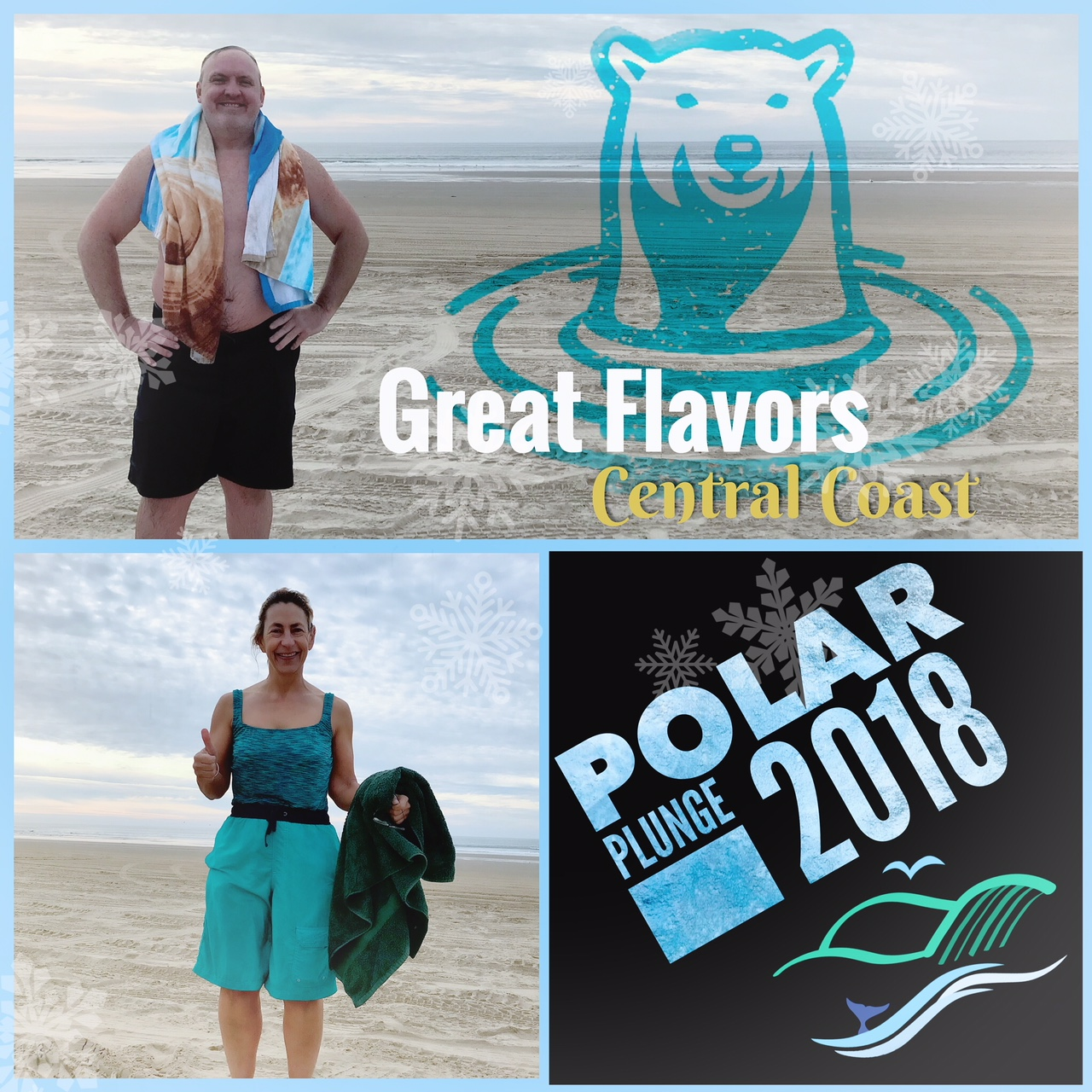 Great Flavors polar plunge image