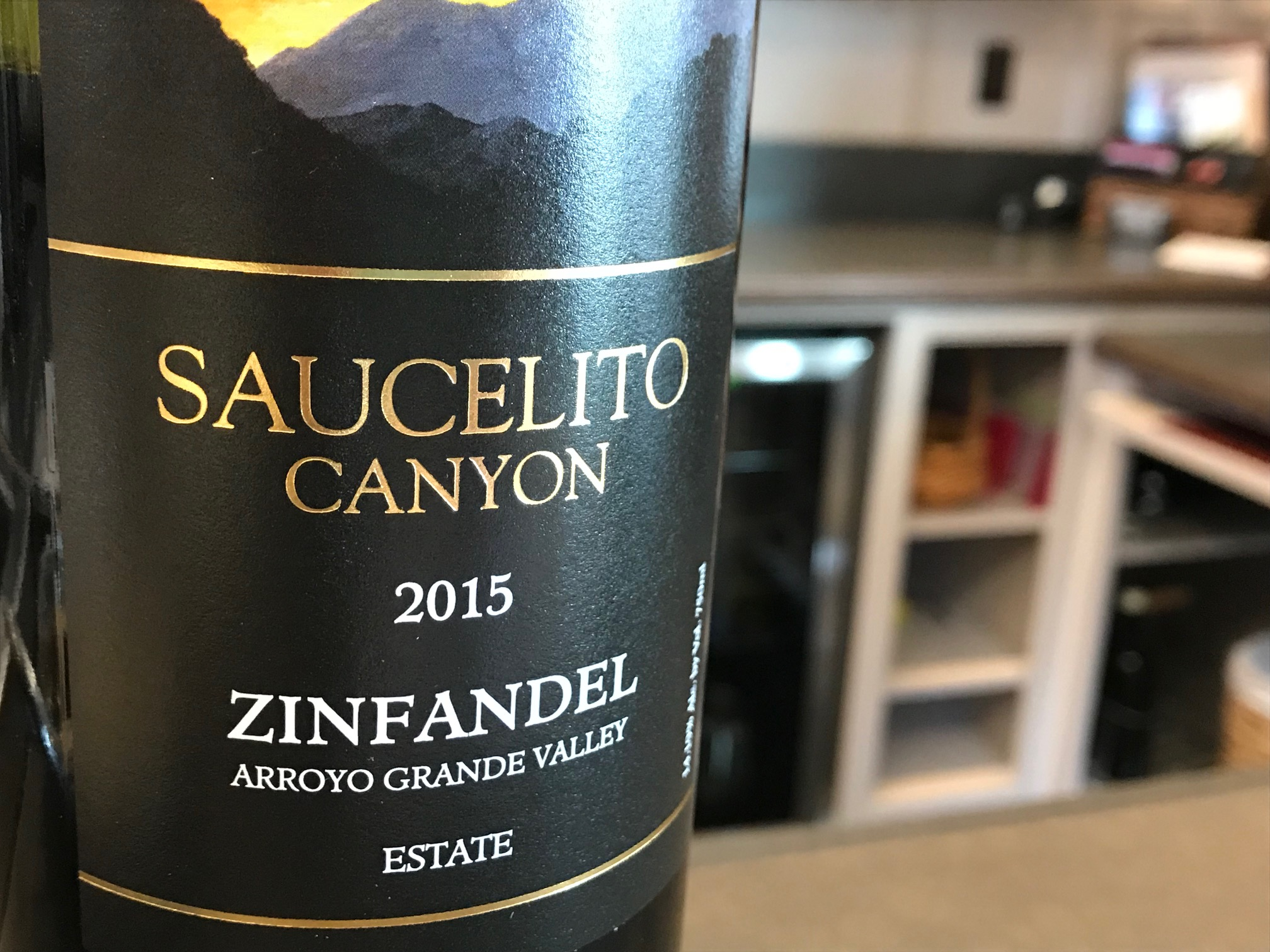 Estate Zinfandel bottle image