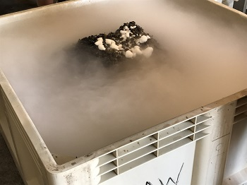 cold soak dry ice image