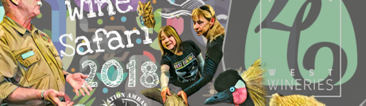 Wine Safari 2018 – Wine Tasting Gone Wild (with Animals)