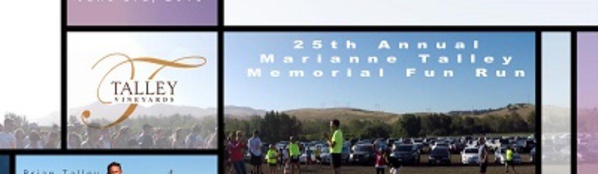 A Race to Remember: 25th Anniversary Marianne Talley Memorial Fun Run