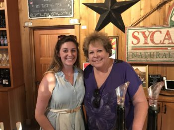Maribeth Jacobsen and Katy Michelle Doce Robles Winery photo