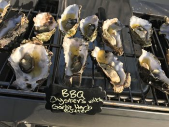 Paso Catering barbecued oysters photo
